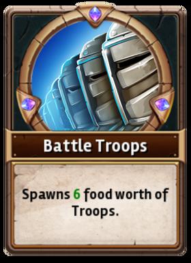 Card BattleTroop