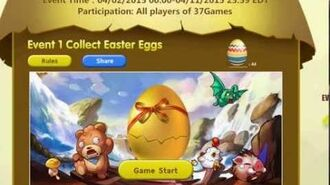 Video Guidance Get Siegelord Free Resource by Collecting Eggs in 37Games Easter Event