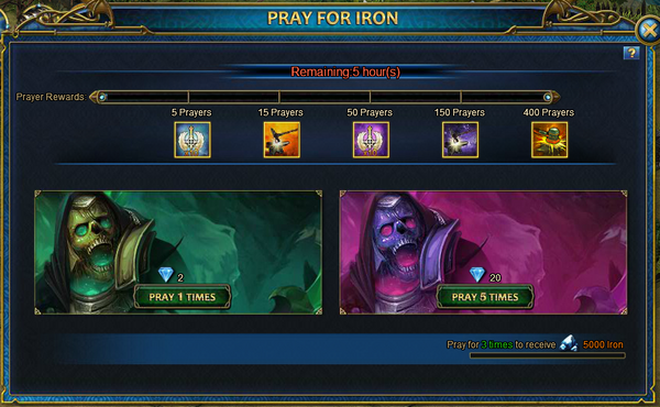 Pray for Iron