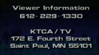 KTCA Channel 2 PBS - June 1990 Sign-Off and Credit Roll