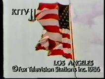 KTTV 1986 Sign On