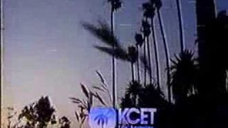 KCET 28 Los Angeles CA 1991 Sign Off