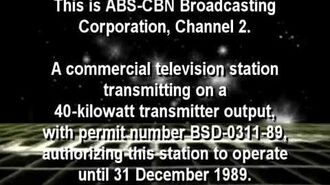ABS-CBN Sign-off 1989 (Remade)