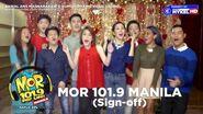 DWRR-FM (MOR 101 9) Manila Sign-off