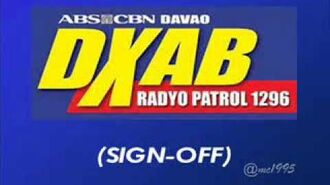 DXAB RADYO PATROL 1296 DAVAO (SIGN-OFF)