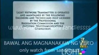 Light Network ZOE TV - Sign on and Sign off 17-JUL 2015