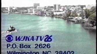 WJKA-TV 26 (now WSFX), Wilmington NC Sign-On & Sign-Off from June 1993