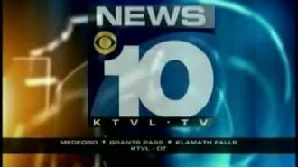 KTVL 10 (Medford OR) Sign-off and Sign-on from Autumn 2011