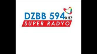 Super Radyo DZBB 594khz Sign on