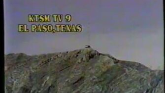 1985 KTSM Channel 9 NBC Sign Off and Anthem - El Paso Texas