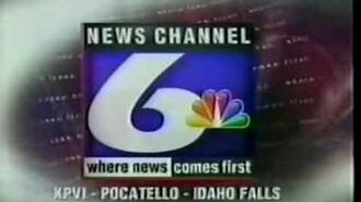 KPVI TV-6 (NBC) Sign-Off March 11th 2000