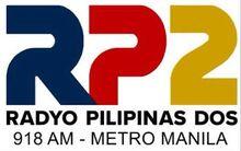 DZSR Radyo Pilipinas Dos (RP2) 918 kHz AM