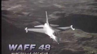 WAFF 48 Sign Off - 1989 - Huntsville Alabama