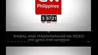 9TV Sign off and Sign on to CNN Philippines 16-MAR 2015