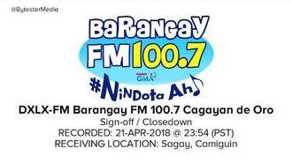 Barangay FM 100