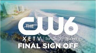 XETV-TDT - Final moments of XETV as an English language station serving San Diego - May 30, 2017