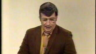 KGIN 11 Grand Island - Late News and Sign Off (1-1-1985)