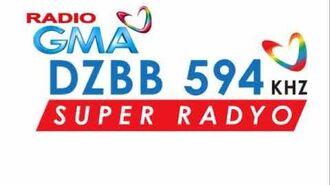 GMA Super Radyo DZBB 594 Sign On and Sign Off (2017)
