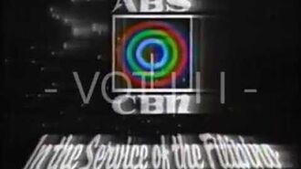 ABS-CBN Sign Off (1991)