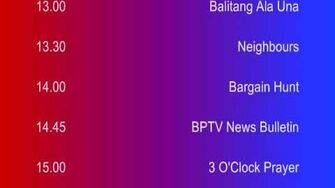 Mock Startup of BPTV