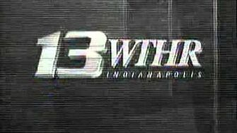 WTHR 13 Sign-Off early 1990s