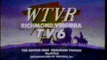 WTVR-TV 6, Richmond VA Sign-On 1990