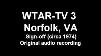 WTAR-TV 3 Sign-off (ca