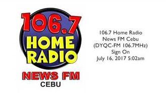 Home Radio Cebu sign-on 2017