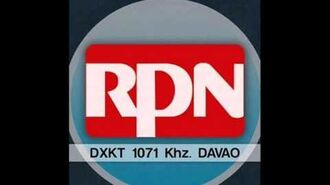 RPN Radyo Ronda DXKT Davao 1071 Khz Sign Off (Recorded on August 29, 2015)