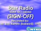 DXRR-FM 101.1 Davao Sign On and Sign Off