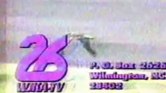 WJKA-26, Wilmington, NC, Sign On, circa 1991