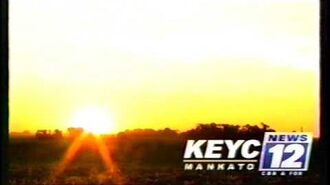 KEYC 12 sign on (June 5, 2017)