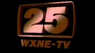 WXNE-TV Sign off from the Mid-1980s