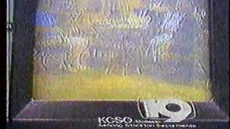 KCSO channel 19 sign-off circa 1986