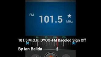 MOR Bacolod Sign-off (Voice by David Bang) 2016