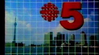 CBLT Toronto 5 sign-off 1986