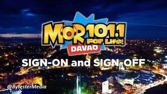 DXRR-FM MOR 101.1 Davao Sign-on and Sign-off -12-FEB-2018-