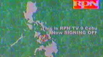 RPN TV 9 Cebu Signing Off