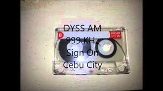 DYSS AM Sign On (Recorded-Super Radyo DYSS 999 Sign On