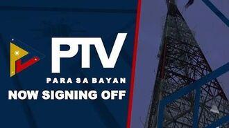 PTV 4 Signing Off