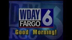 WDAY-6, Fargo, ND, Sign On, 4-30 AM, March 27, 2016