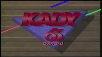 KADY-TV 63 (now KBEH) Oxnard, CA Sign-Off 1990