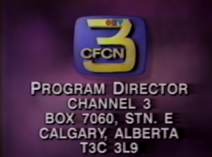 CFCN Sign off and on 1995