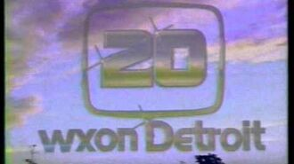 WXON Sign on from 1981