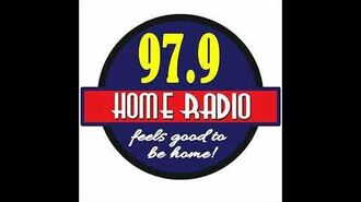 97.9 Home Radio Sign On & Sign OFF (August 28, 2017).