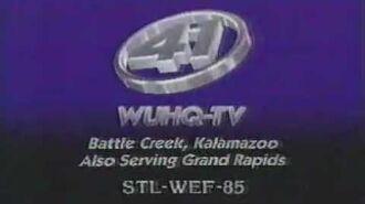 WUHQ-TV 41 Sign-Off 1989