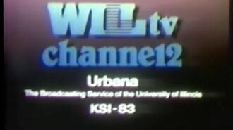 WILL Channel 12 Urbana sign off and Silver Screen closing (1980s)