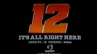 "1983 KPNX Channel 12 Sign Off ""Its all right here""and National Anthem"