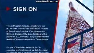 PTV-4 - Sign-On (June 29, 2017)