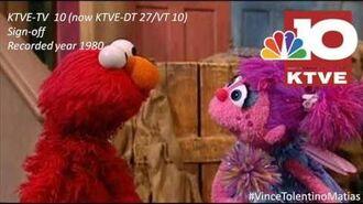 KTVE-TV 10 (now KTVE-DT 27) Sign-off early 1980s